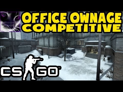 CS:GO - COMPETITIVE OFFICE - Full Session - 1st Place (X-Ray ON)