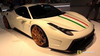 Vorsteiner Ferrari 458 Italia 2012 Videos