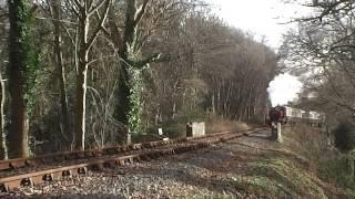 "North pole Express ""Plym Valley Railway"""
