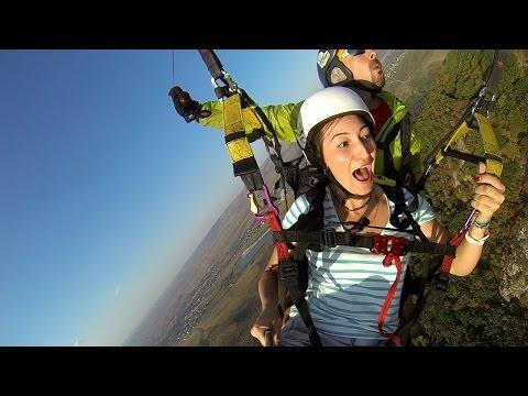 Enjoy Paragliding To A Scream Параплан Крым
