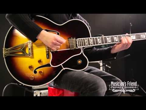 Gibson Custom Super 400 Electric Hollowbody Vintage Sunburst