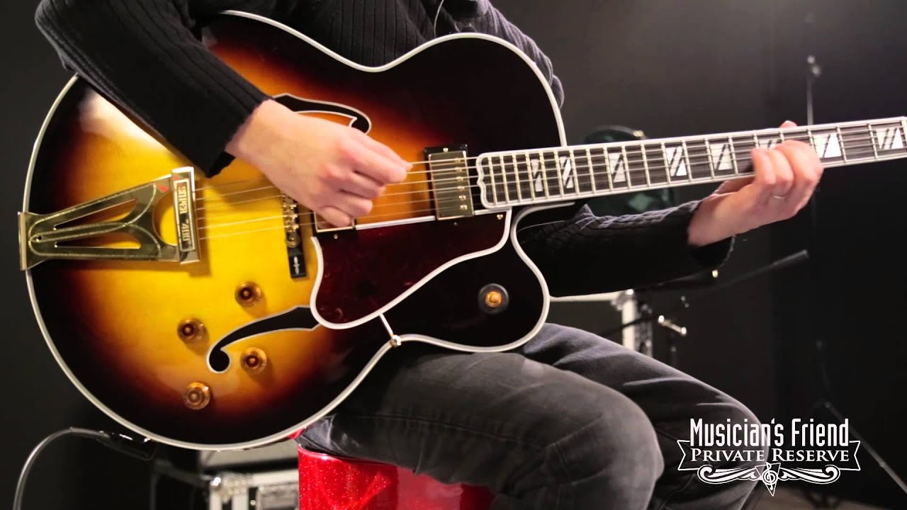 gibson custom super 400 electric hollowbody vin with loop
