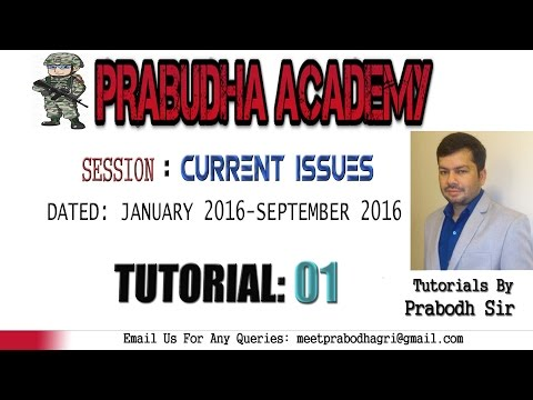 Military Exercises, Current Affairs For CAPF,CDS,NDA,IB And Other Competitive Exams [Tutorial 1]