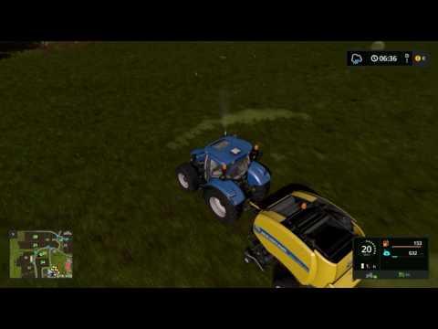Farming Simulator 17 ㋡ od biedaka do kozaka ㋡ #2 belowanie siana ㋡
