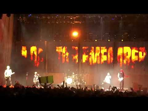 The Danger In Starting A Fire by A Day To Remember Live at UMBC Fieldhouse