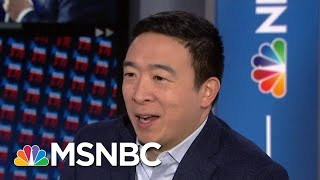 What Andrew Yang Thinks His Chances Are | Velshi & Ruhle | MSNBC