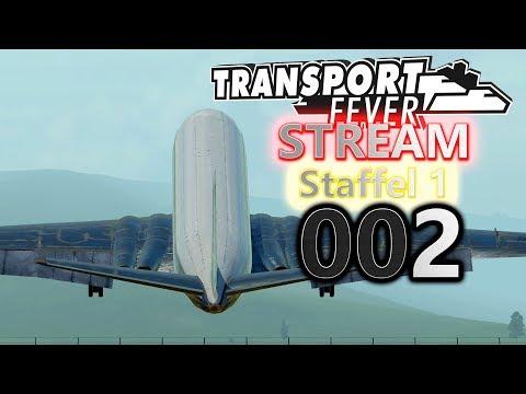🚆 ► [Stream|002] ► Let's Play Transport Fever German
