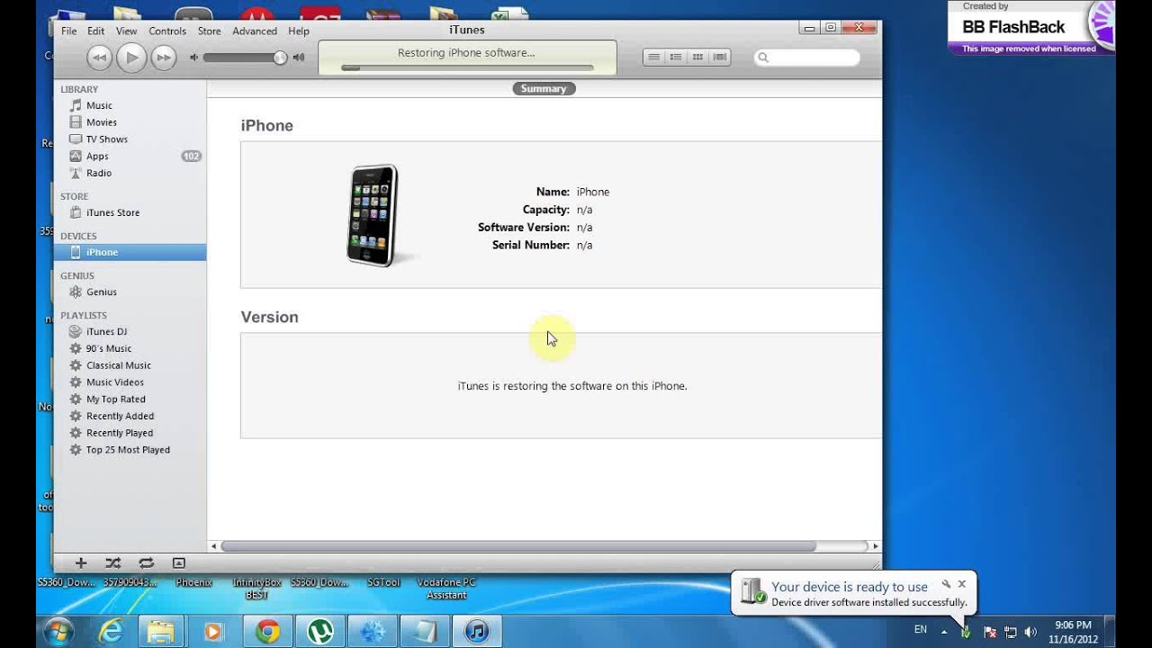 comment restaurer iphone 3g 4.2.1