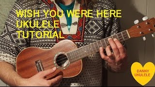 Ukulele Tutorial - Wish You Were Here - Pink Floyd