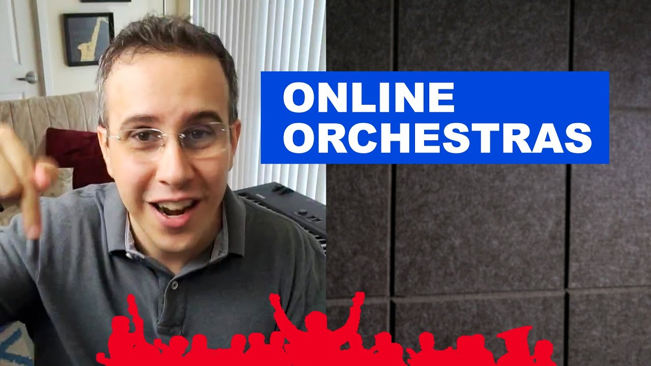 Online Orchestra (2021) - Preannouncement and invitation: open application