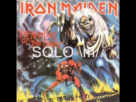 Iron Maiden the number of the beast with lyrics
