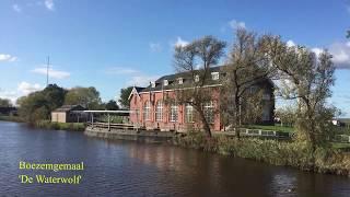 Boezemgemaal & Camping  'De Waterwolf', Lauwerzijl, The Netherlands