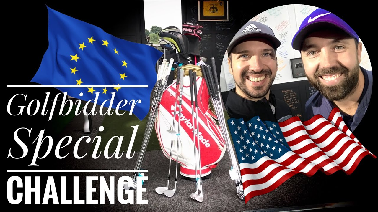 Us Vs Europe Golfbidder Unboxing With Rick Shiels Youtube