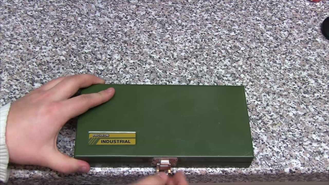 Proxxon 23080 Steckschlüsselsatz 14 Zoll Review Hd Youtube