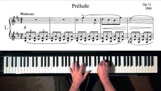 Liadov Prelude Op.11 No.1 - Paul Barton FEURICH piano