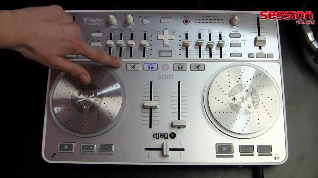 VESTAX SPIN 64BIT DRIVER DOWNLOAD