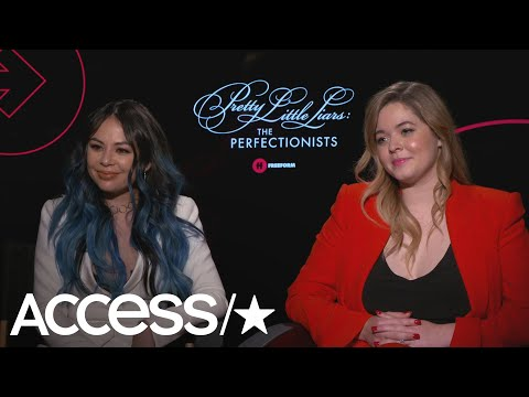 'PLL': Janel Parrish & Sasha Pieterse Hint That Alex Drake Could Return! | Access