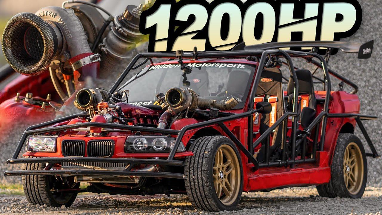 1200HP BMW E36 Kart STUNS Everyone! Street Pulls 4-Deep (Inspired by Cleetus' Leroy)
