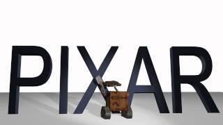 PIXAR TEXT