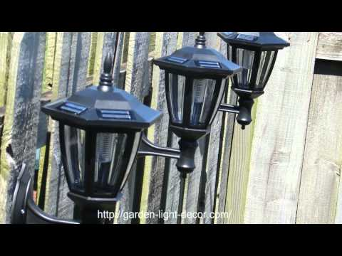 2-Pk Outdoor Garden Solar Wall Mount Landscape Solar Light Brand: Atlantic Solars