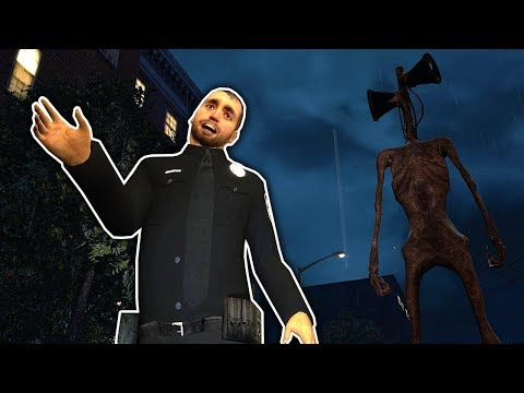 Siren Head Followed Us Home in Gmod! - Garry's Mod Multiplayer Siren Head Survival