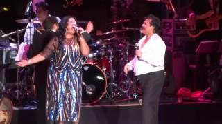JUAN GABRIEL Y LA INDIA- NEW YORK- 11/04/15  JEHANNETTE
