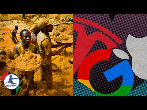 Apple Google Tesla Still Benefiting from Dead African Miners in Congo