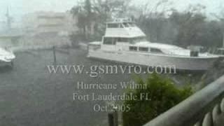 Yachts Crashing Hurricane Wilma Part 7 of  8