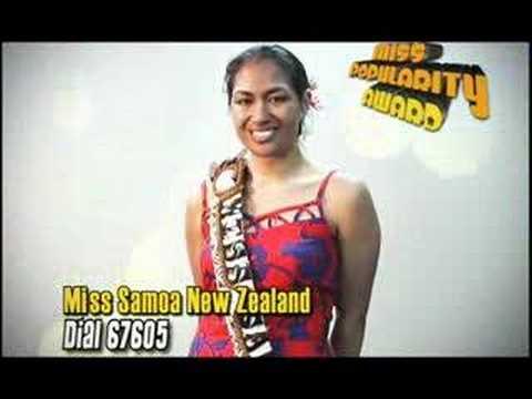 Miss Samoa Contest 2006