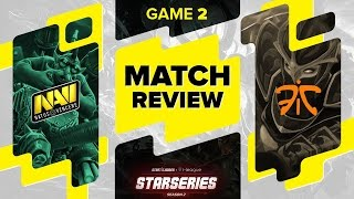 MATCH REVIEW: Na`Vi vs Fnatic - game 2 @ SL i-League StarSeries S2 LAN