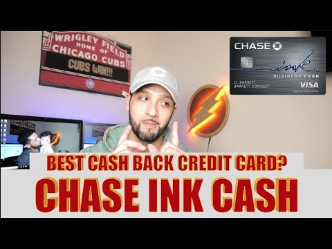 CHASE INK CASH CARD!!! [UNBOXING & REVIEW] !!