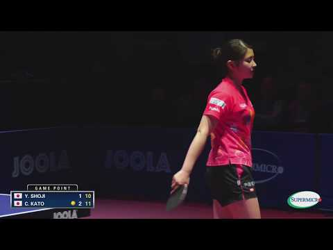 2017 US Open Table Tennis Championships - Yuki Shoji vs Chiako Kato - WS Final (Highlights)
