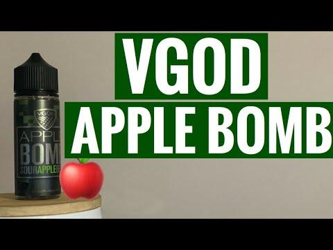 VGOD Apple Bomb - Sour Apple Belt E-Liquid Review!