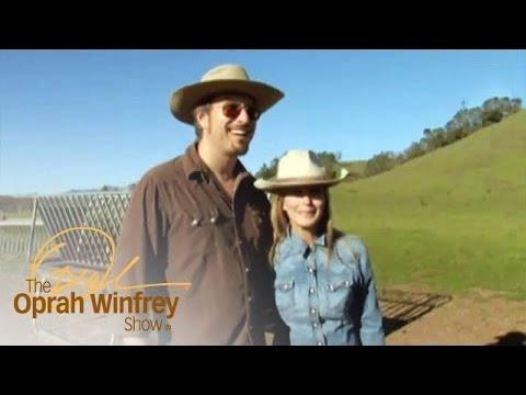 Tour Bo Derek and John Corbett's Ranch | The Oprah Winfrey Show | Oprah Winfrey Network