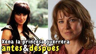 Xena la princesa guerrera | Antes y Después 2015