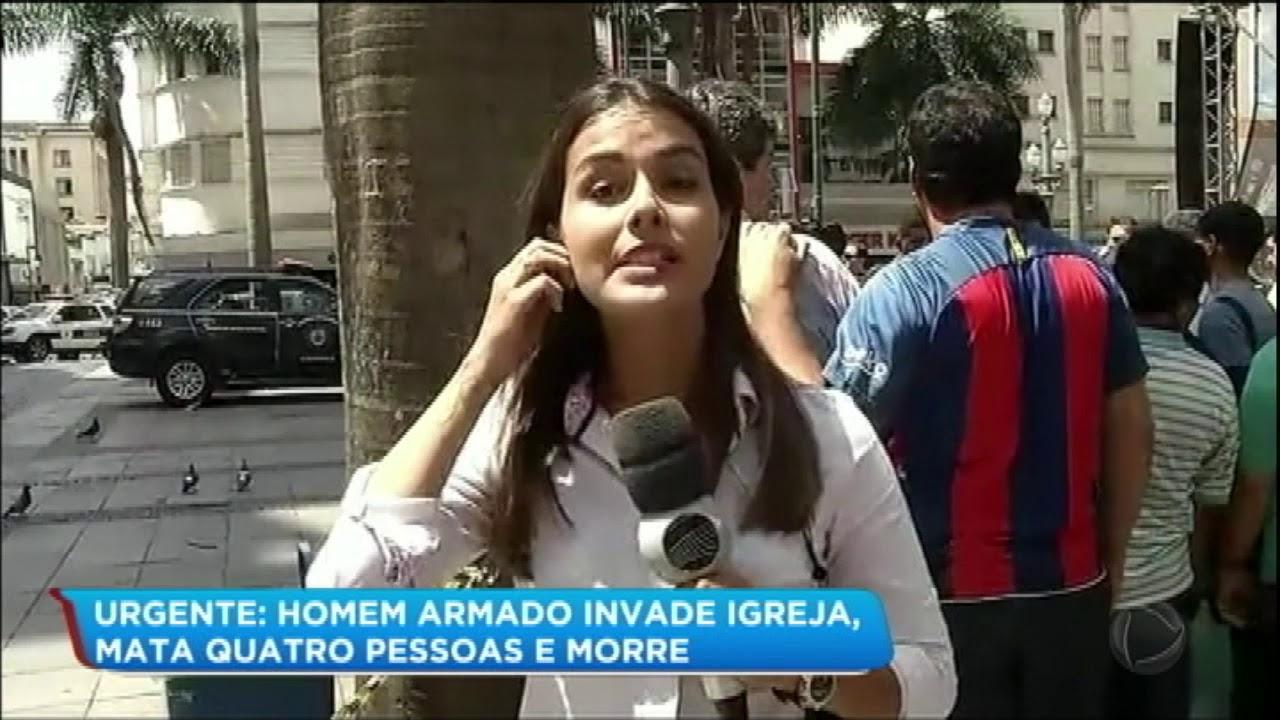 Atirador invade catedral em Campinas (SP) e mata cinco pessoas