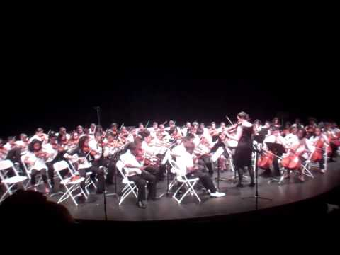 Diamonds Foundation Academy Charter School 6th grade orchestra