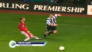 Alan Shearer did this 13 years ago today. Is it the best BPL goal ever?!