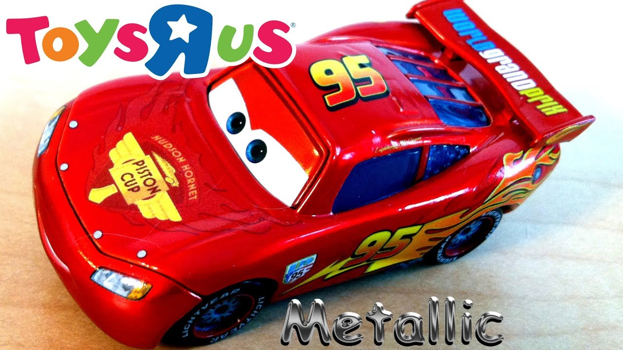 Toys R Us Toy Cars : Metallic lightning mcqueen from toys quot r us diecast cars
