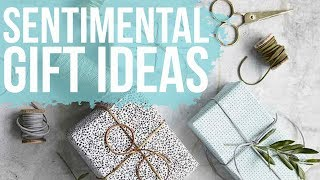 Sentimental Wedding Gift Guide!