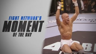 Georges St-Pierre stops Jay Hieron at UFC 48 | Moment of the Day
