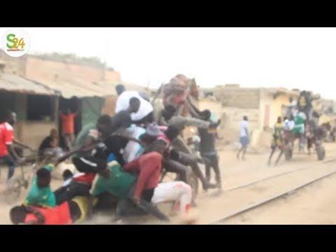 Thiaroye: Un accident de charrette sur les rails secoue le web (ou va le Sénégal)