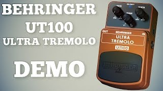 Behringer UT100 Ultra Tremolo Demo