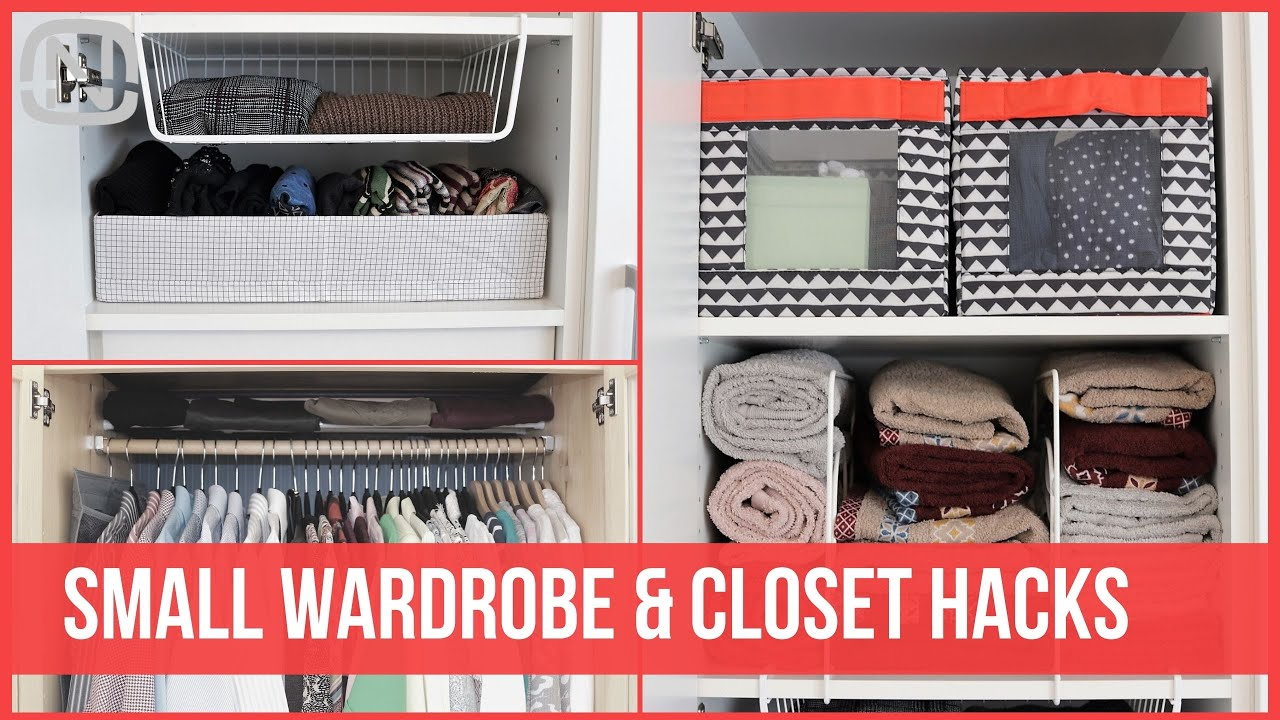 Download How to fit everything in a small wardrobe or closet   OrgaNatic
