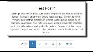 How to make pro pagination with PHP and jQuery - Part 2 - #Mr Nav