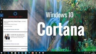 Cortana en Windows 10 para PC y Tablet, en español