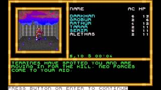 Buck Rogers: Countdown to Doomsday (MS-DOS) Intro und Gameplay