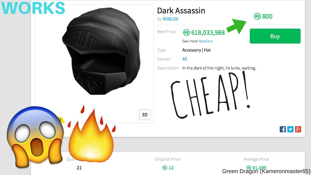 Roblox How To Get A Expensive Hat For Cheap Youtube
