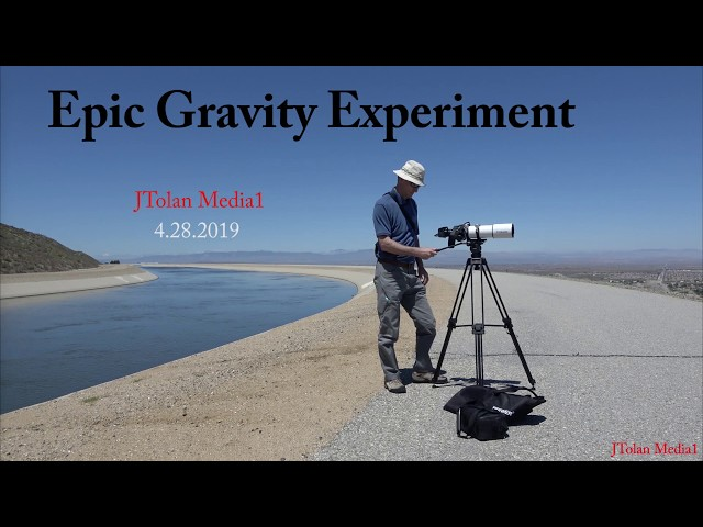 Epic Gravity Experiment