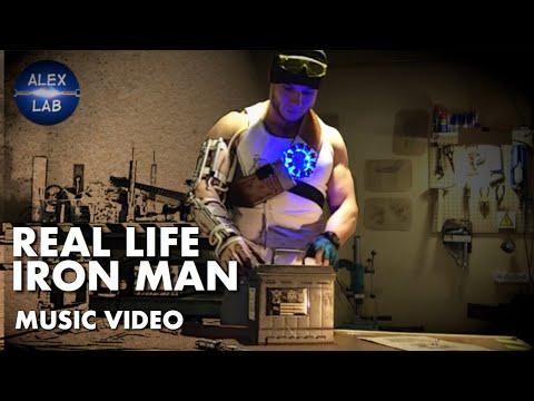 Real life Iron Man. Best DIY motivation ever!